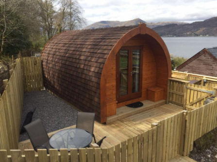 SeaviewPod and hot tub