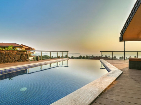 Villa with a private pool in Nerul, Goa by GuestHouser 61168