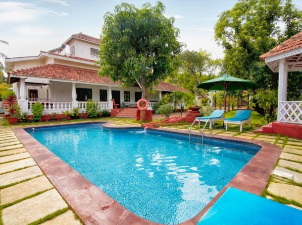Portuguese Luxury Vagator 4 Bed Pool Villa - Captain