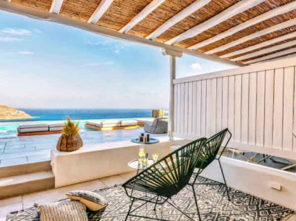 Mykonos Bliss - Cozy Suites, Adults Only Hotel